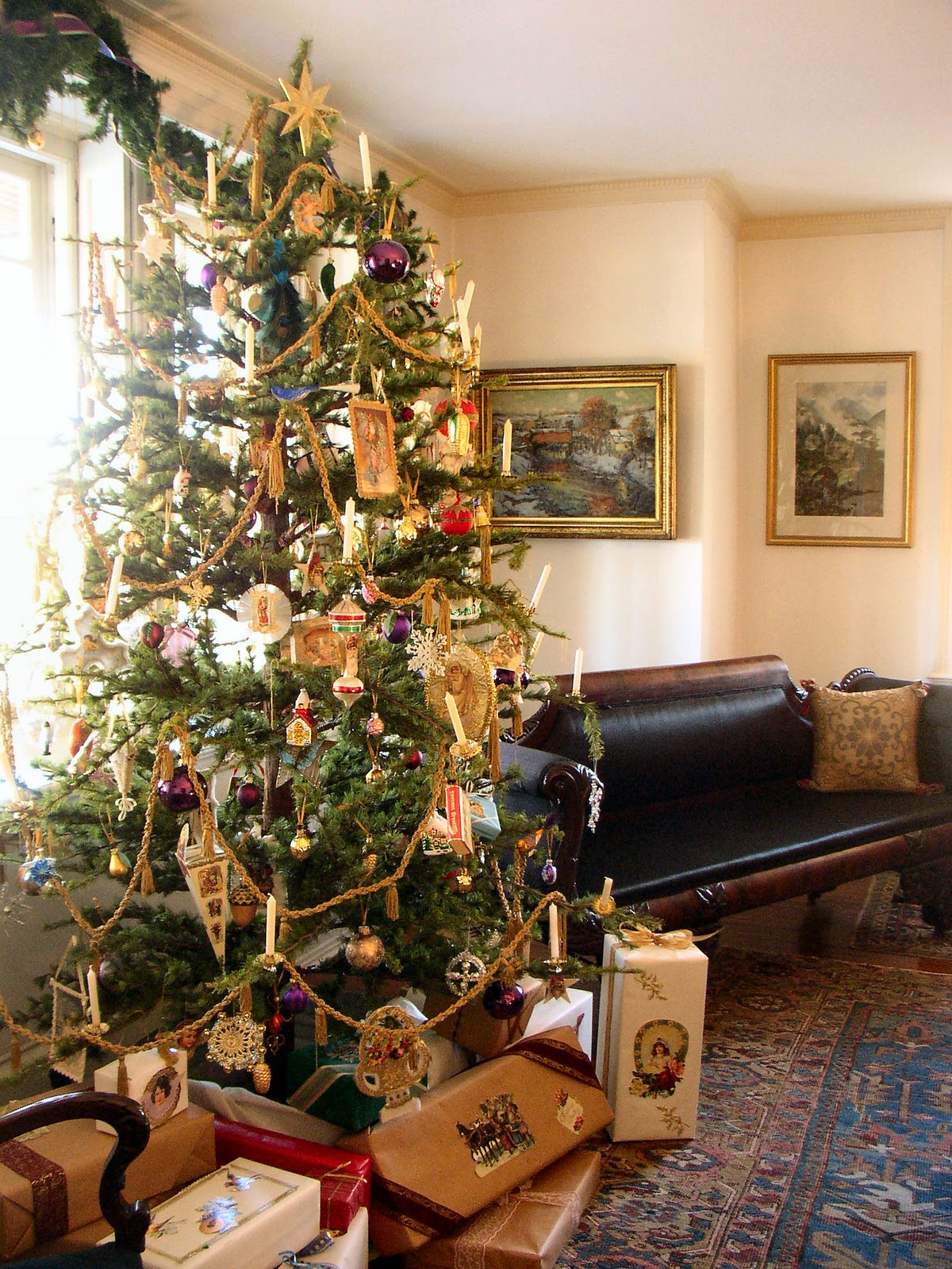 Victorian Christmas Home Decoration Ideas