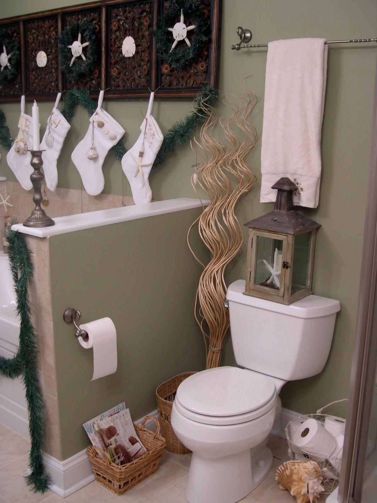 40 Most Popular Bathroom Chirstmas Decoration Ideas ... on Popular Bathroom Ideas  id=59415