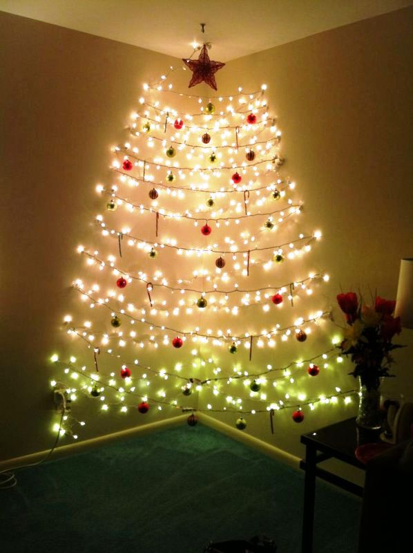 25 Christmas Lights Decorations On Walls Decoration Love