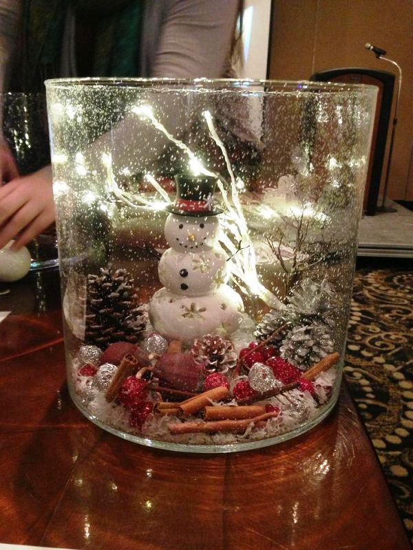 30 Christmas Centerpieces Lights Decorations Ideas