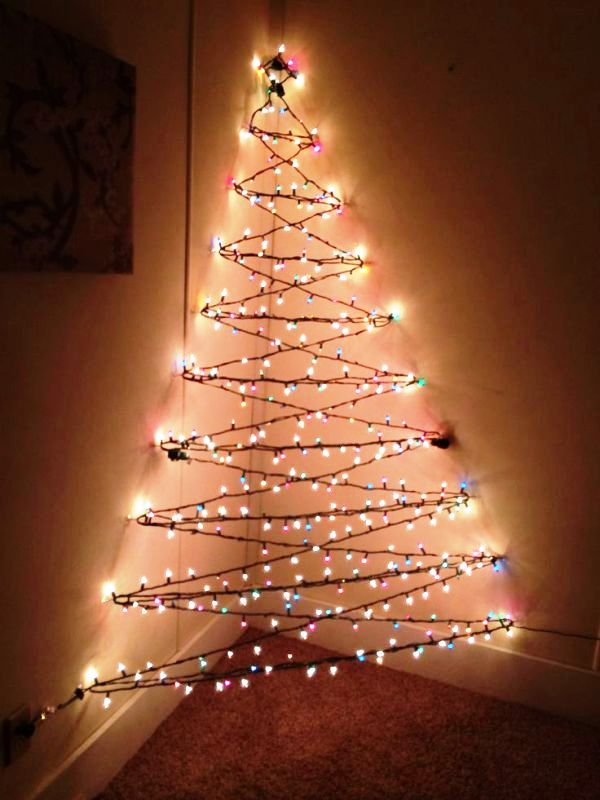 25 Christmas Lights Decorations On Walls Decoration Love
