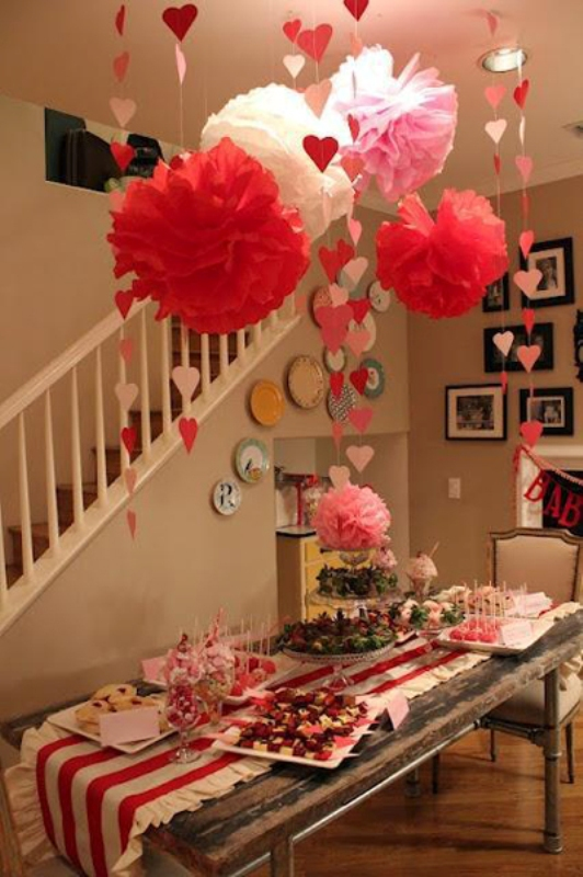 Balloon decorations, lighting candles, and using decorative lights are exciting ways for creating the perfect valentine's day decor. 25 Elegant Valentines Decorations Ideas - Decoration Love