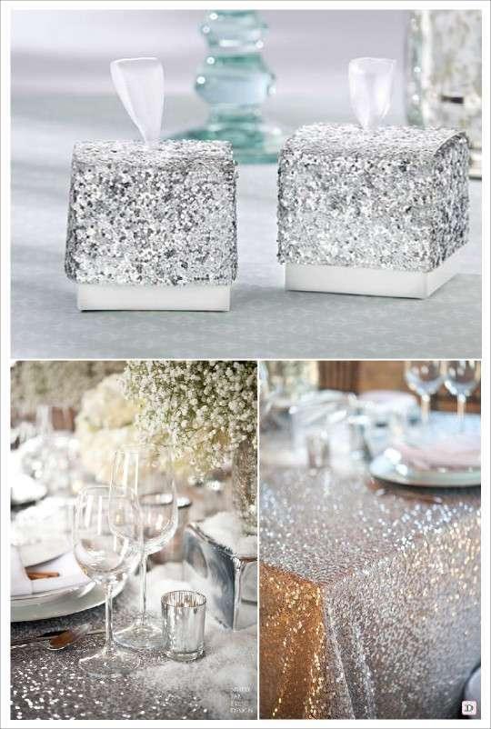 Dcoration Mariage Paillet Glitter