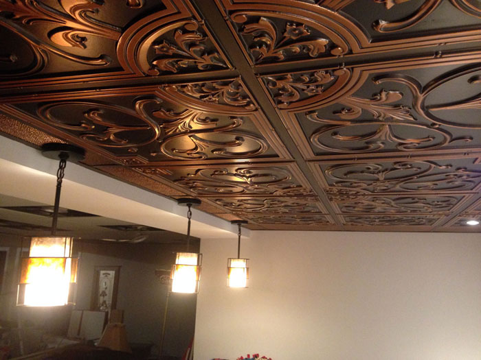 2x2 acoustical ceiling tiles how to