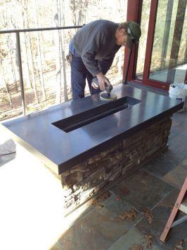 Polished Concrete Countertop-200
