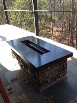 Polished Concrete Countertop-206