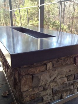 Polished Concrete Countertop-210