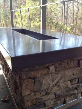 Polished Concrete Countertop-210