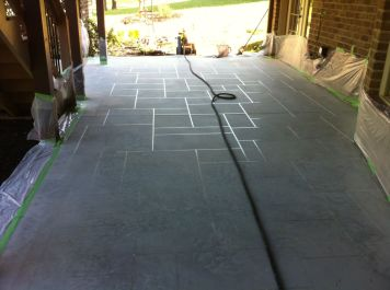 Sprayed Concrete Overlay-607