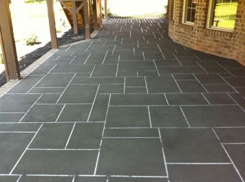 Sprayed Concrete Overlay-611