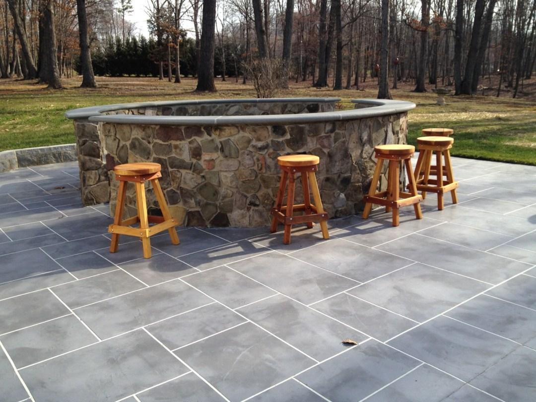 Troweled Overlay Concrete Virginia