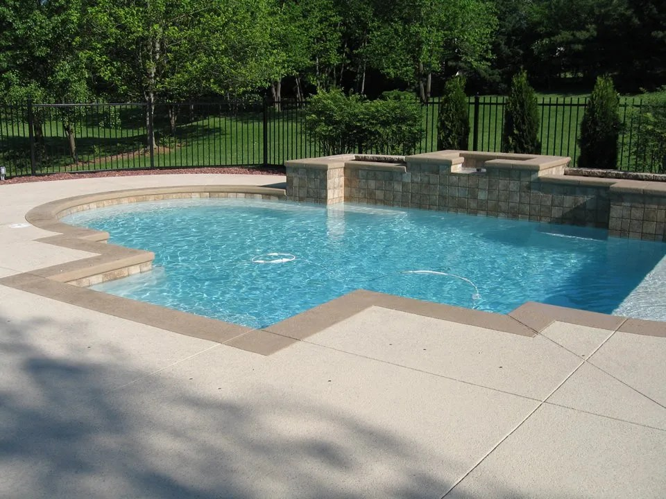 Pool Deck Ideas St Louis, MO | Decorative Concrete Resurfacing on Pool Deck Patio Ideas id=43590