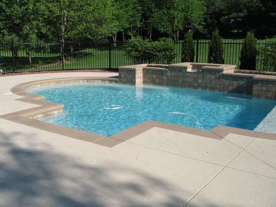 Pool Deck Ideas St Louis, MO | Decorative Concrete Resurfacing on Pool Deck Patio Ideas  id=43590