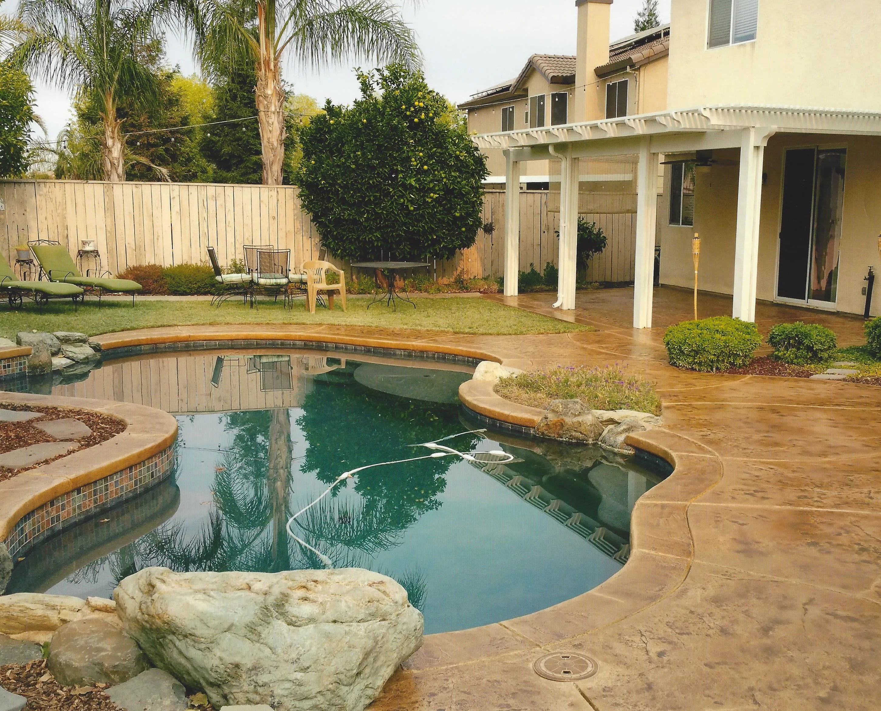 Pool Deck Ideas St Louis, MO | Decorative Concrete Resurfacing on Pool Deck Patio Ideas id=16085