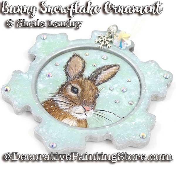LAS18254web-Bunny-Snowflake-Ornament
