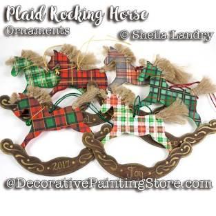 LAS18269web-Plaid-Rocking-Horse-Ornaments