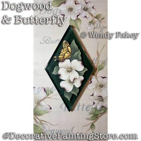 Dogwood & Butterfly