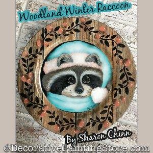 f4ce45e0c391 New Pattern – Woodland Winter Raccoon – Sharon Chinn