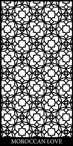 Moroccan Love Decorative Screen