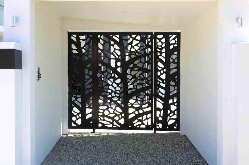 Leaf Skeleton Decorative Entry Gates