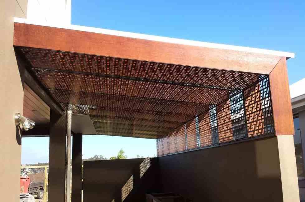 The Vlahos Pergola Roof Screens 1
