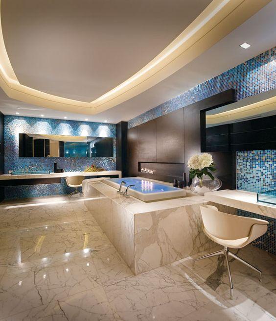 حمام 10 ديكورات حمامات في غاية الأناقة