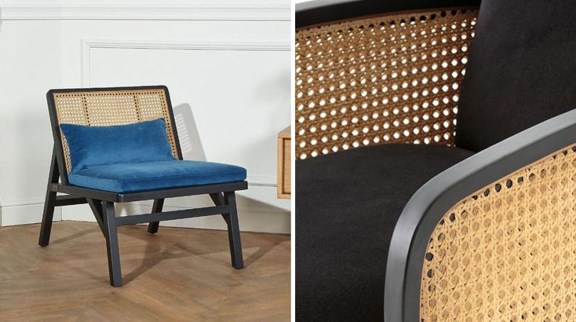 fauteuil cannage 10 modeles tres