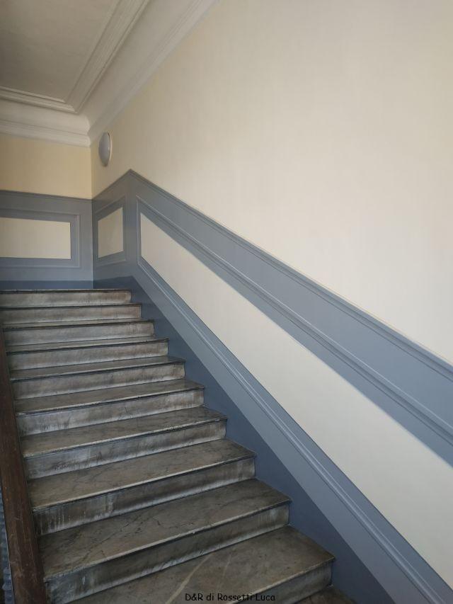 Hai deciso di dipingere le pareti? Decorazioni Scale Interne Decorazioni E Restauri A Torino