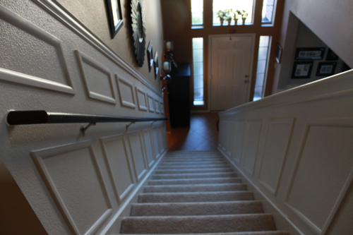 staircase makeover painted