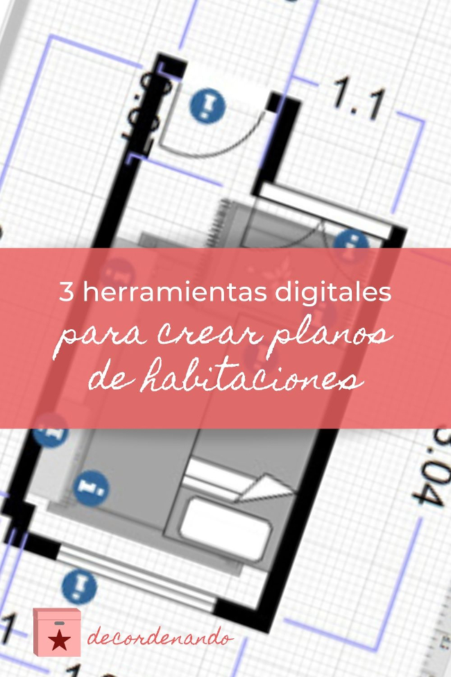 3 herramientas digitales para crear planos de habitaciones