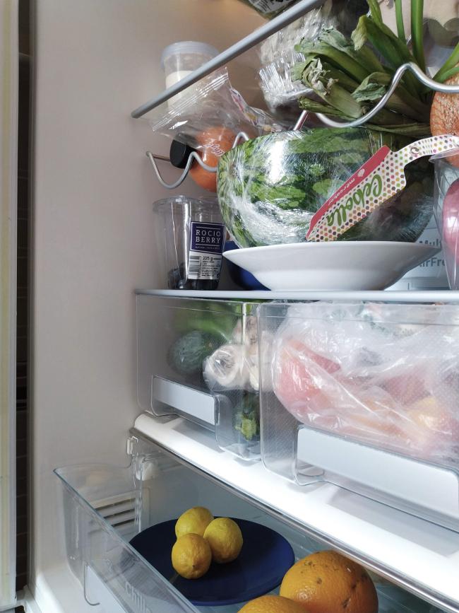 resultado después de limpiar el frigorífico - decordenando - junio relimpito