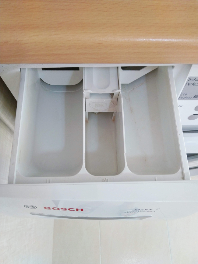 es necesario limpiar el cajetín de la lavadora de vez en cuando