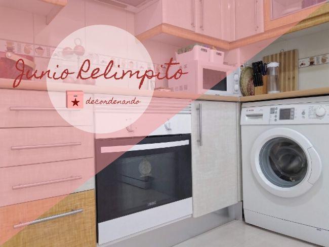 limpiar el horno y el microondas - junio relimpito - decordenando