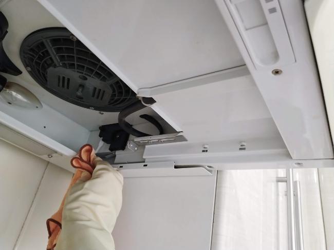 limpiar la campana extractora por dentro después de retirar los filtros