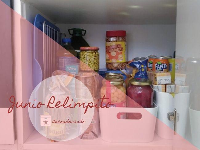 limpiar la despensa - armarios y cajones de la cocina - día 2 junio relimpito - decordenando