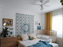 limpiar ventiladores y lugares altos en el dormitorio - limpieza de primavera - junio relimpito