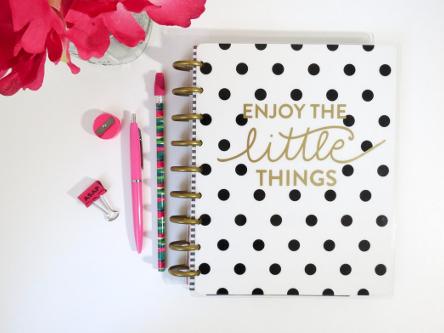 agenda y material de oficina