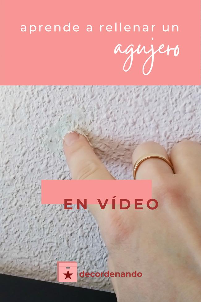 Imagen para Pinterest: aprende a rellenar un agujero - en vídeo