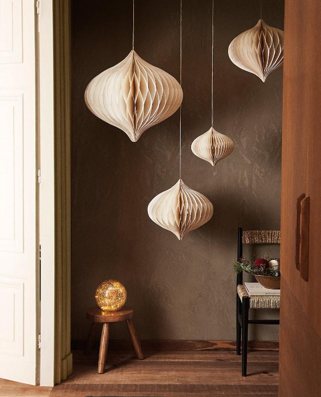 materiales naturales en Zara Home