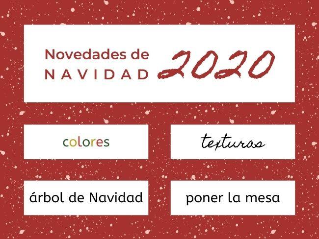 novedades de Navidad 2020