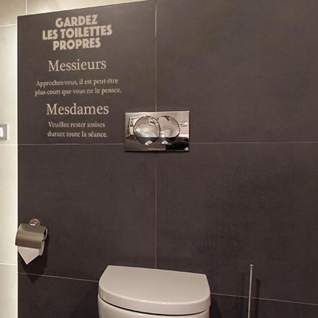 Stickers Pour WC Autocollants Humoristique Et Chic