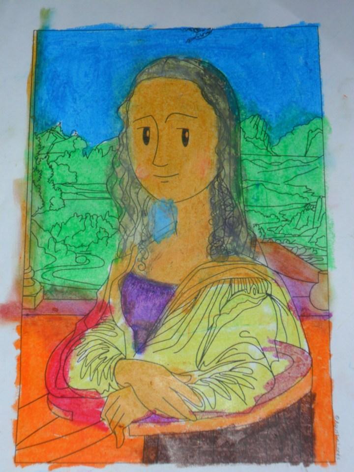 Pintura de La Gioconda