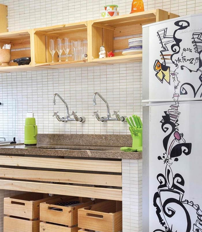 Cozinha simples e barata