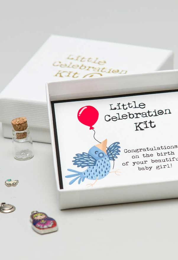 Kit de lembrancinha para chá de bebê
