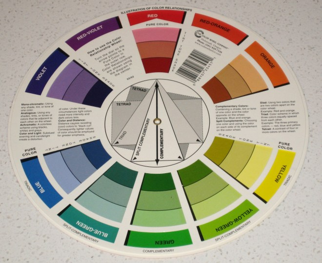 Interior design easy color schemes - Color wheel interior design ...