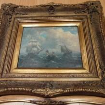 Thomas Luny Fake Painting
