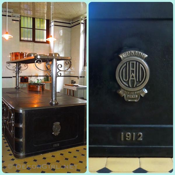 Musee Nissim de Camondo - stove