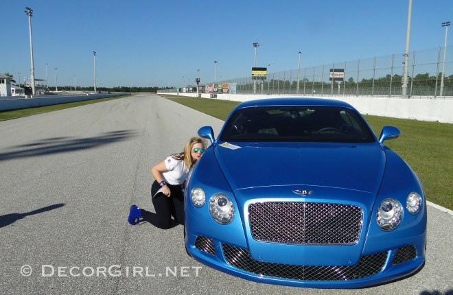 Lisa and Bentley CGT Speed