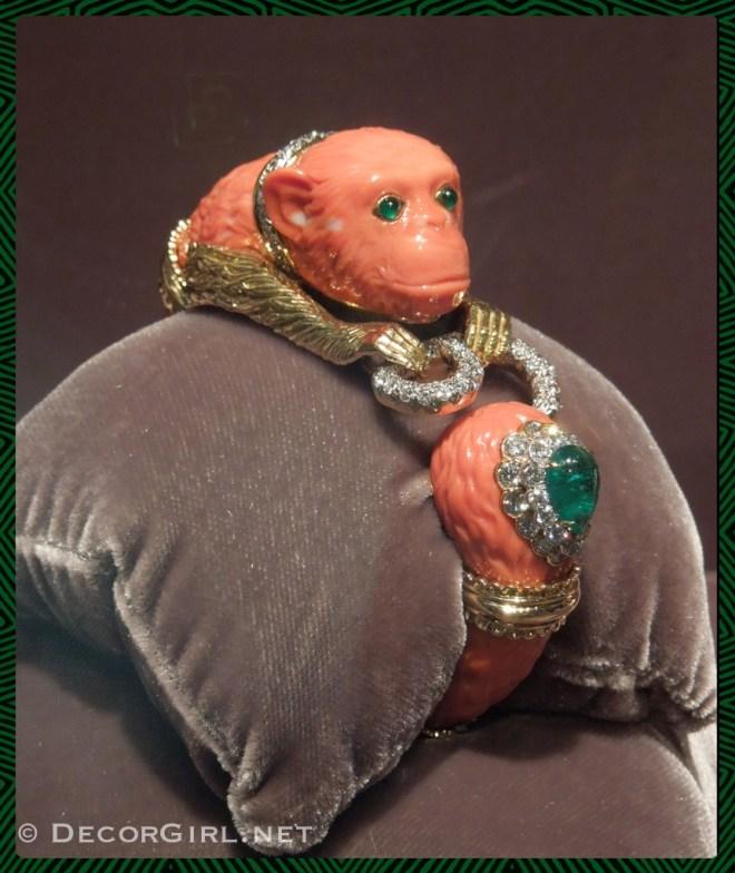 David Webb Monkey bracelet