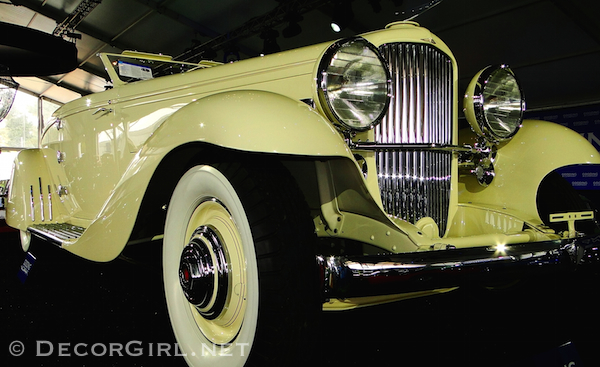 Light yellow Duesnberg